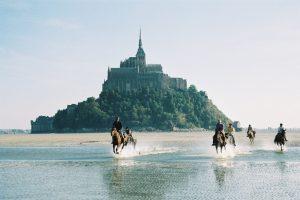 Galop au Mont Saint Michel 1 www.cheval-plaisir.com