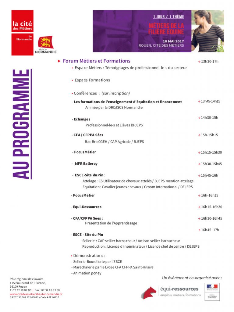 Programme-cite-metiers-rouen-filiere-equine-18-mai-2017