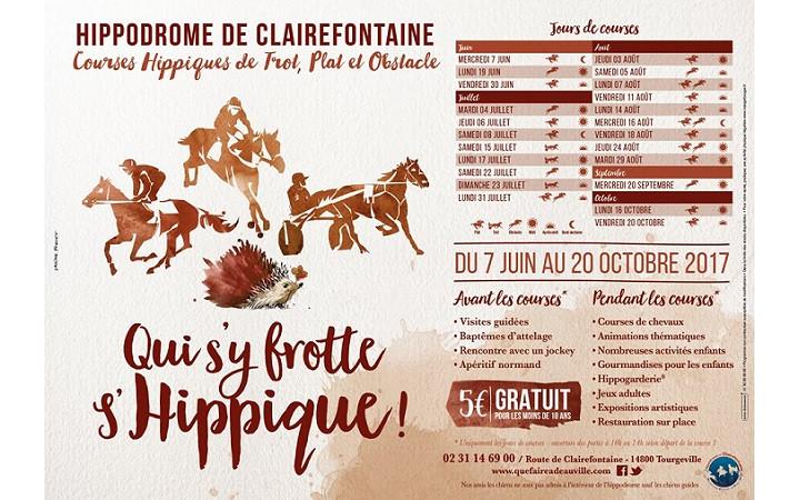 L'hippodrome de Deauville Clairefontaine lance sa saison
