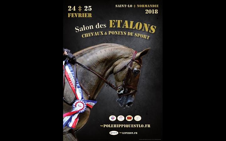 affiche-salon-etalons-poneys-sport-saint-Lo-2018