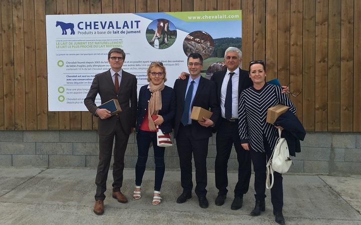 Chevalait-visite-herve-morin-2018