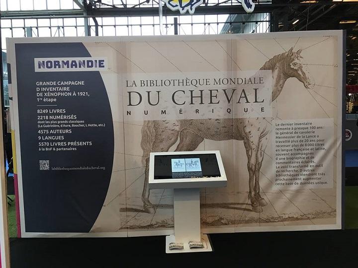 Stand-Normandie-Salon-du-cheval-2018-bibliotheque-mondiale