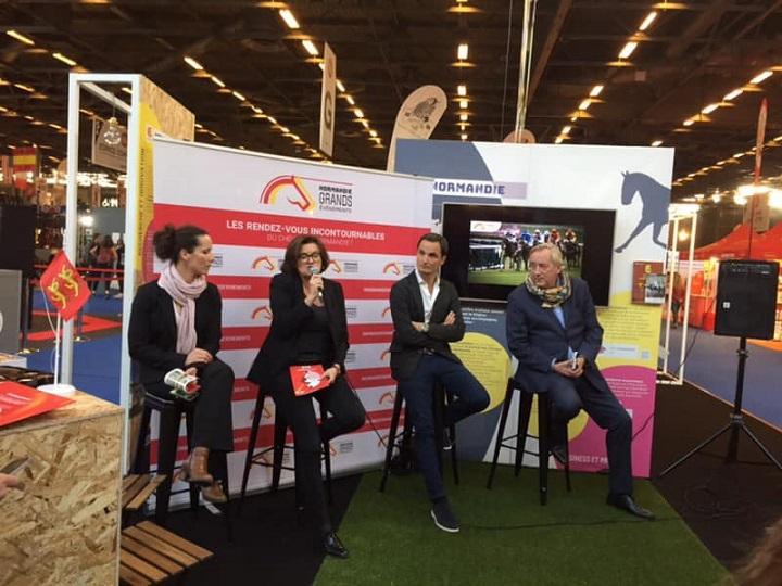 Stand-Normandie-Salon-du-cheval-2018-lancement-Normandie-Grands-Evenements-2019