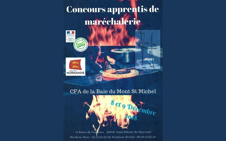 affiche-concours-marechalerie-Lycee-baie-mont-saint-michel-2018