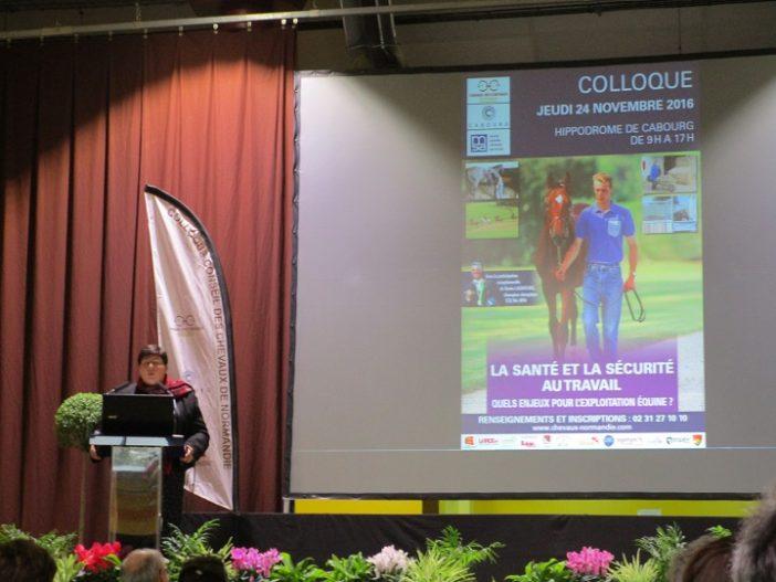COLLOQUE-CCN-2016-Sylvianne-Pralus-presidente-MSA-Cotes-Normandes Crédit photo: CCN